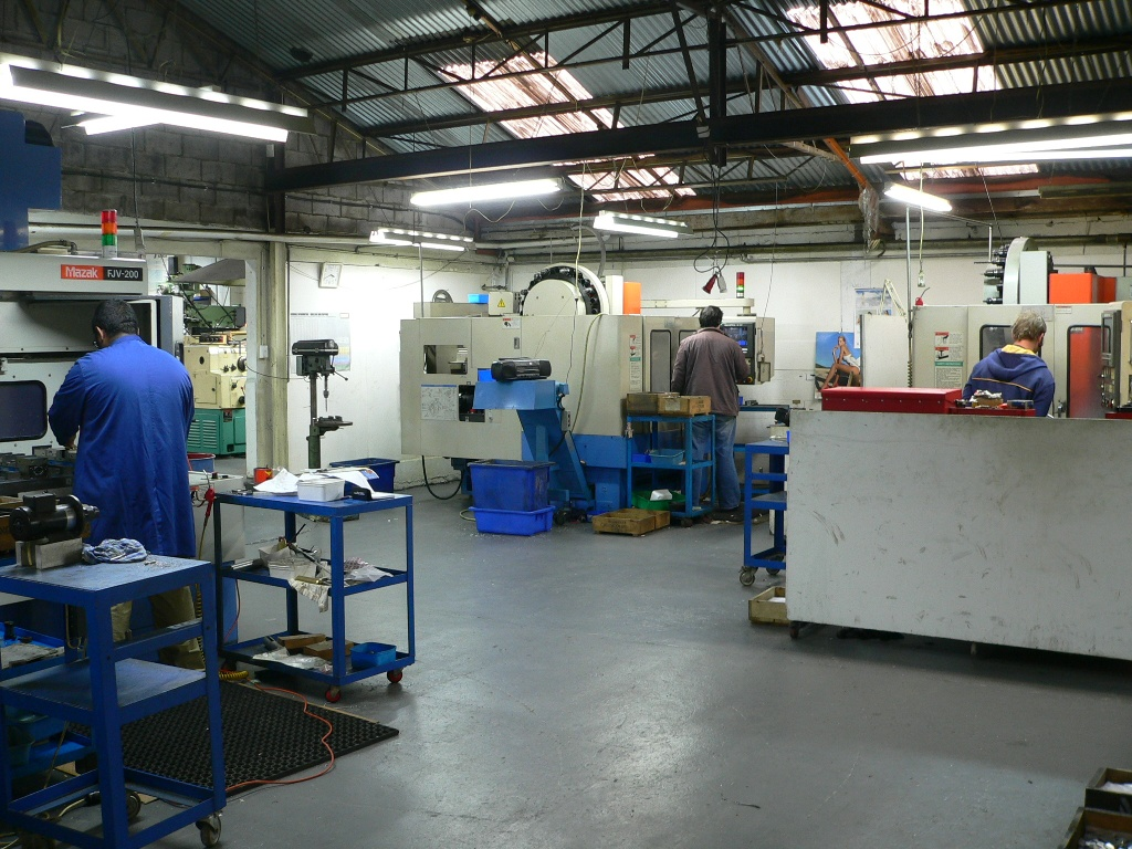 Redwood Engineering Production Facilities